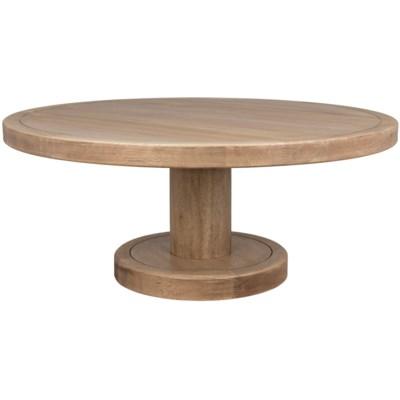 Milena Coffee Table, Washed Walnut