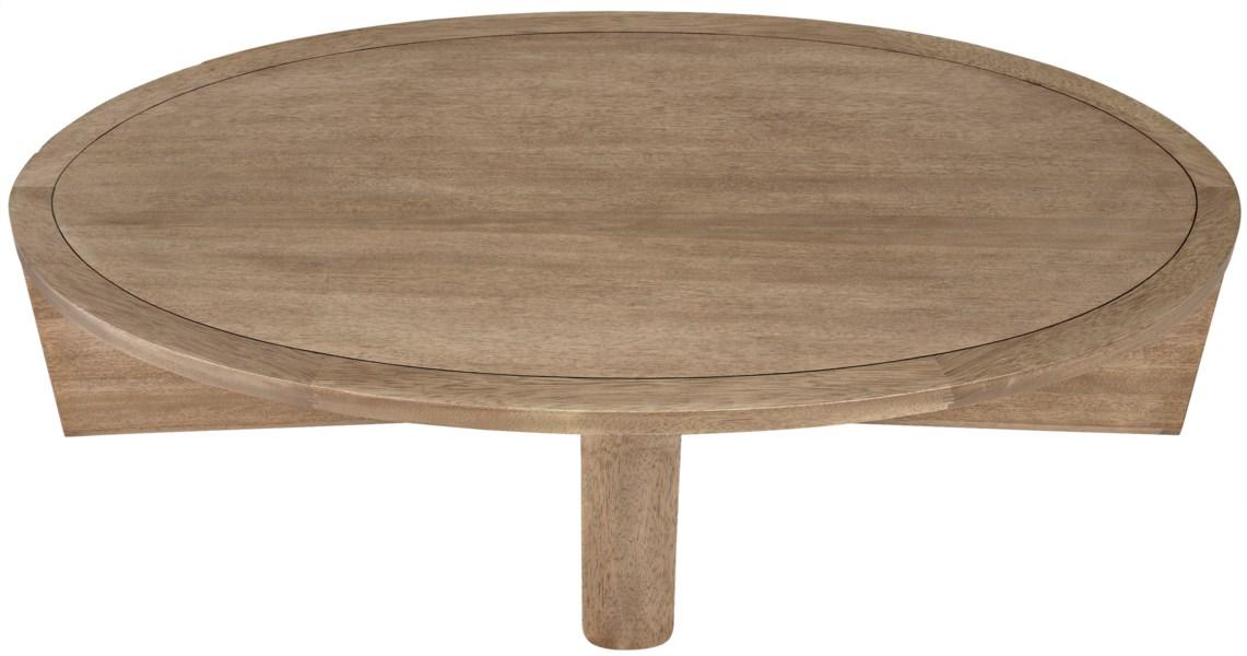 Bast Coffee Table, Washed Walnut