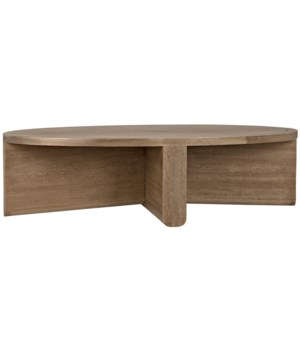 Bast Coffee Table, Washed Walnut