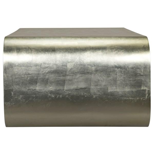 Sarum Coffee Table, Silver Leaf
