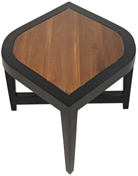 Moholy Coffee Table, Hand Rubbed Black