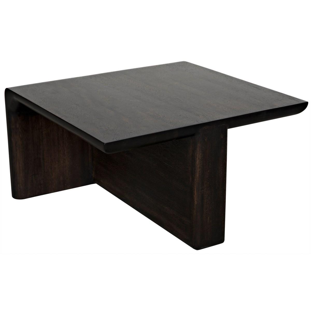 Hagen Coffee Table, Ebony Walnut