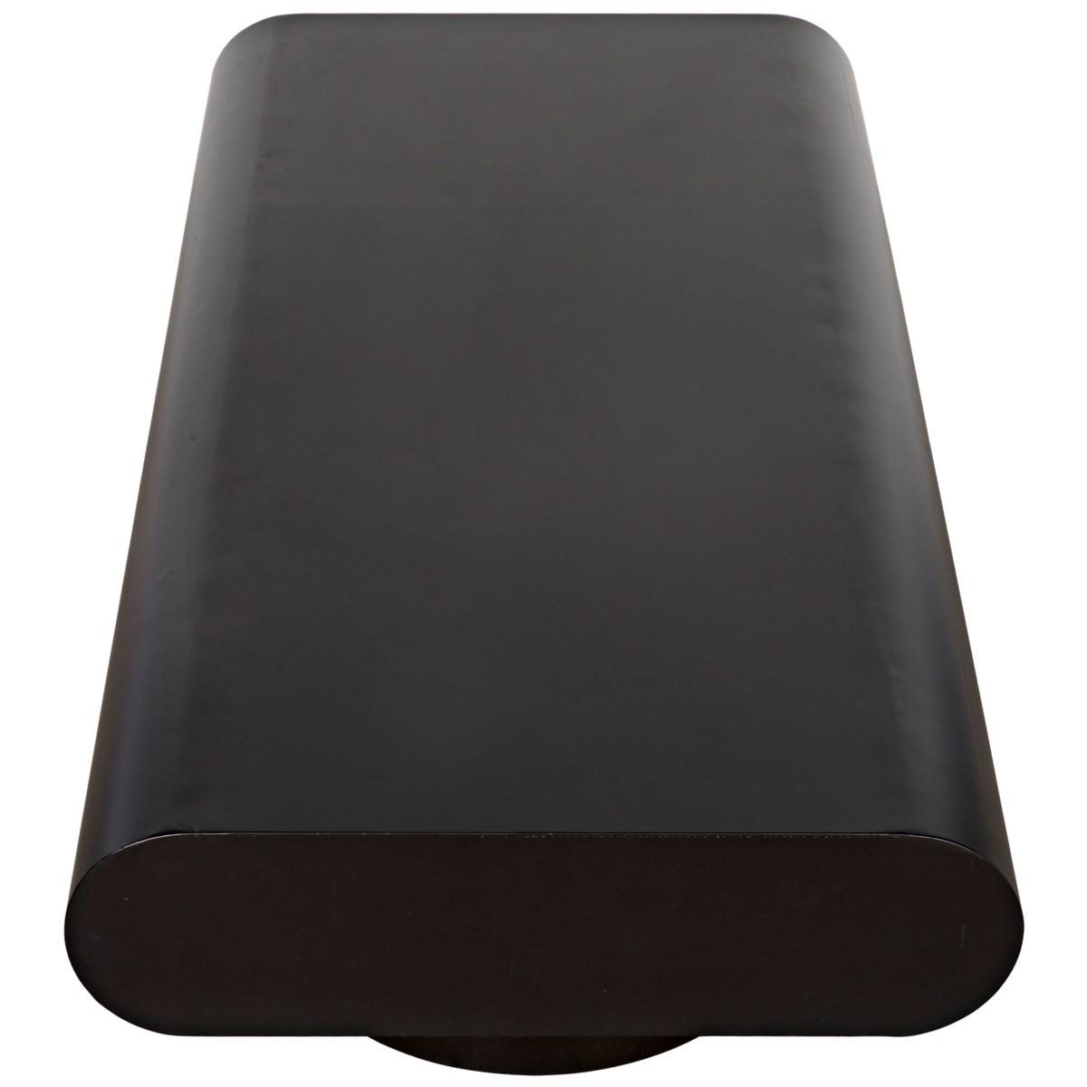 Altar Coffee Table, Black Metal
