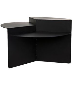 Rico Cocktail Table, Black Metal