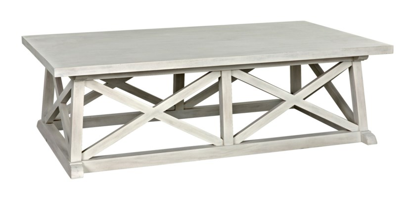 Sutton Coffee Table, White Wash