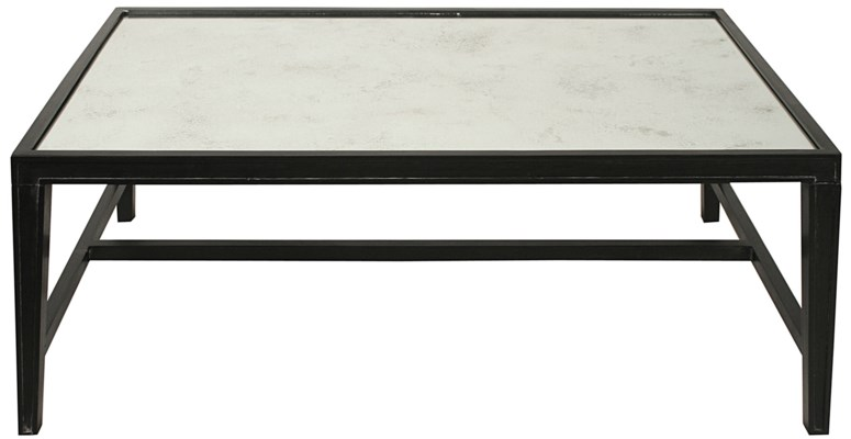 Imperial Coffee Table, Hand Rubbed Black