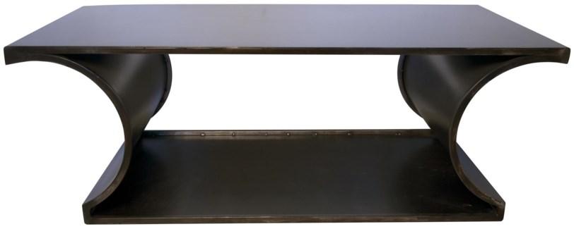 Alec Coffee Table, Metal