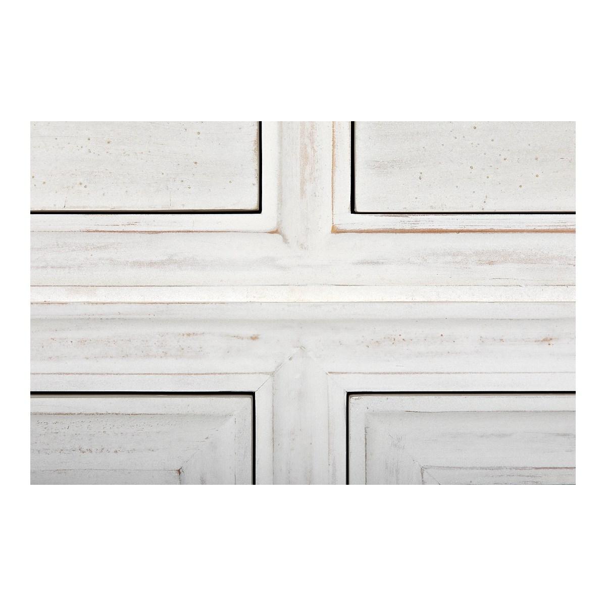 QS Hampton Side Table, White Wash