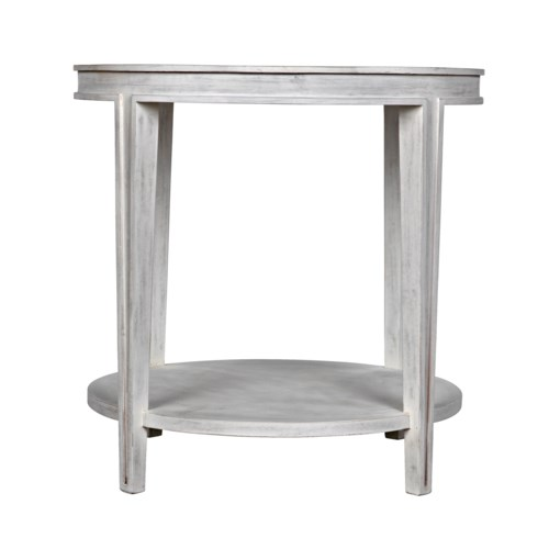 Imperial Side Table, White Wash
