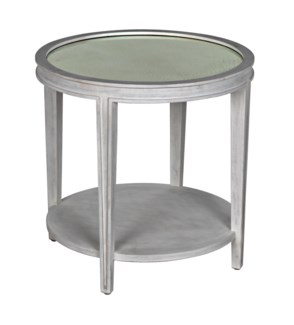 QS Imperial Side Table, White Wash