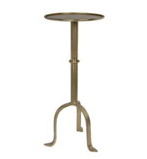 Tini Side Table, Antique Brass