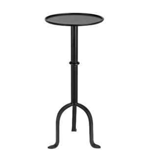 Tini Side Table, Black Metal