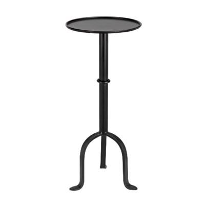 Tini Side Table, Black Metal