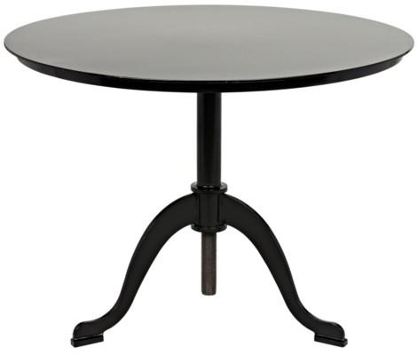 Calder Side Table, Black Metal