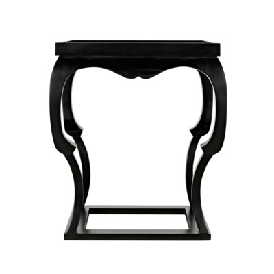 Bellini Side Table, Hand Rubbed Black