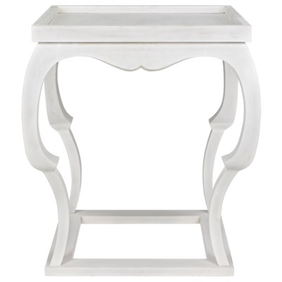 Bellini Side Table, White Wash