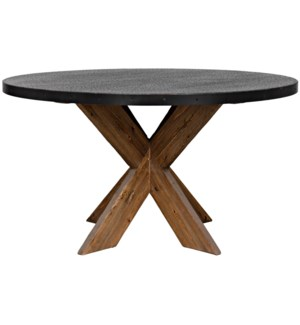 """54"""" Austin Table with Zinc Top"""