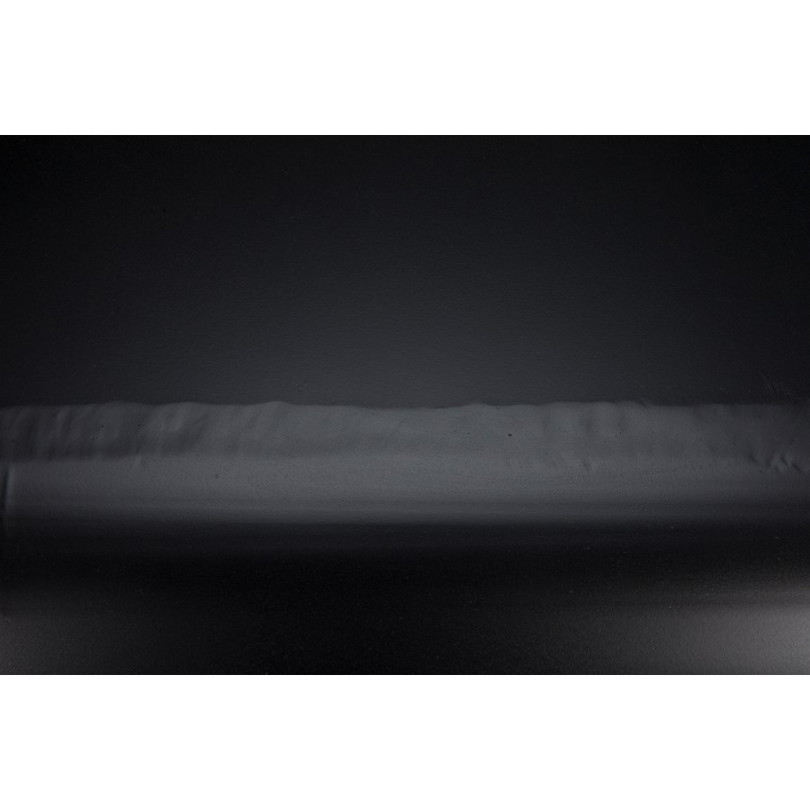 Amboss Dining Table, Black Metal