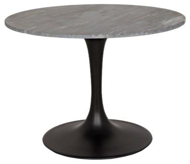 "QS Laredo 40"" Bistro Table, Metal and Stone"