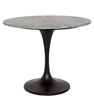 "Laredo 36"" Bistro Table with Black Stone Top"