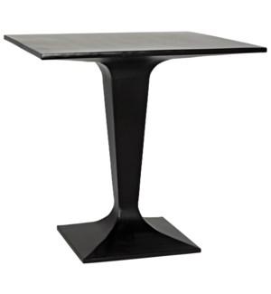 Anoil Bistro Table, Black Metal