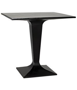 Anoil Bistro Table, Black Metal