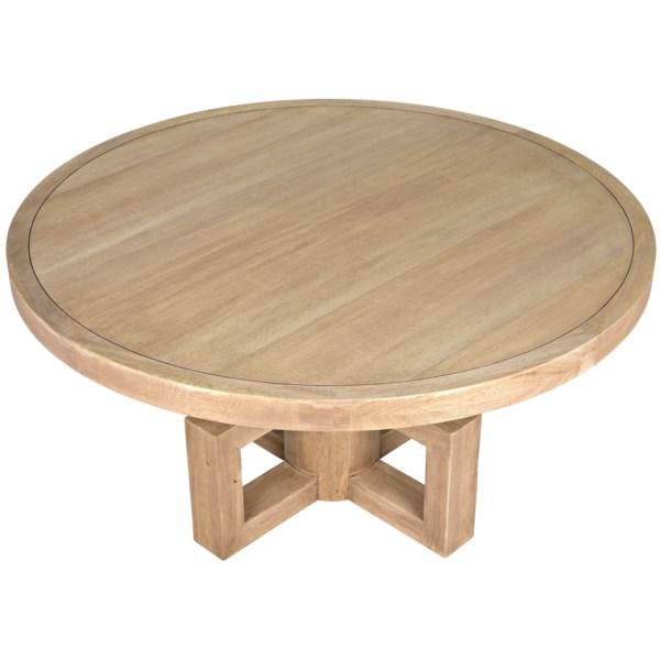Lima Dining Table, Washed Walnut