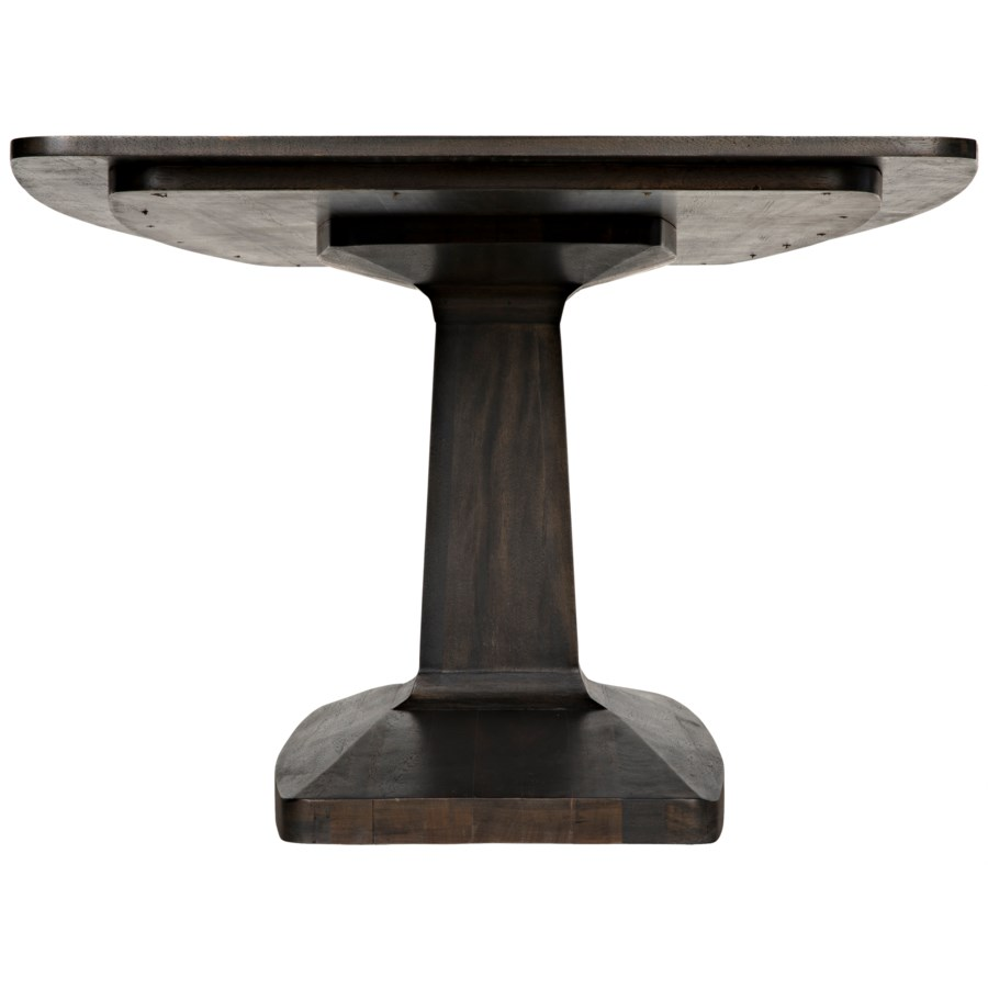 Travis Table, Ebony Walnut