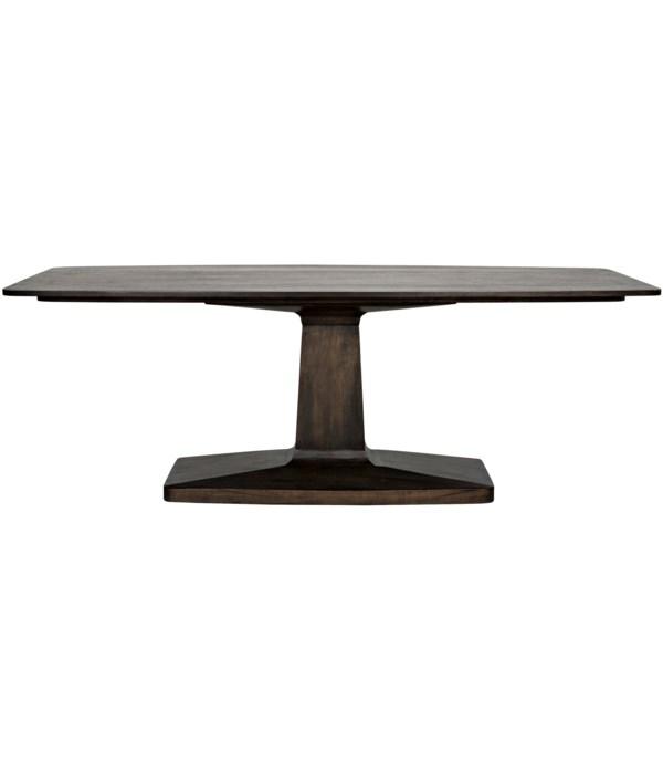 Travis Table, Ebony Walnut