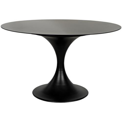 """Herno Table, 48"""", Metal"""