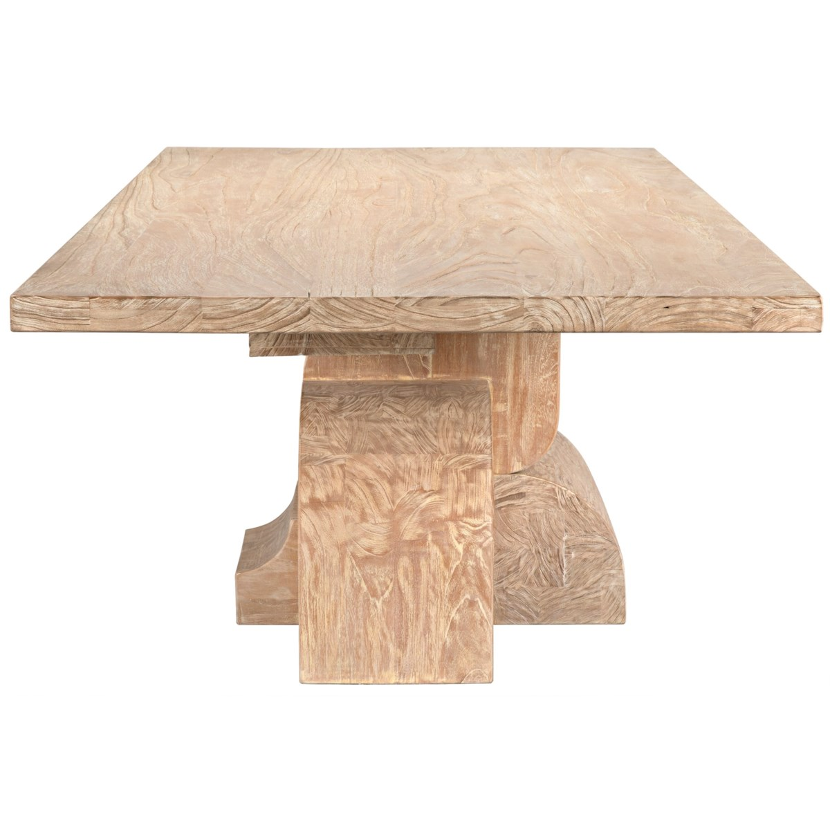 Floyd Dining Table, Distressed Mindi