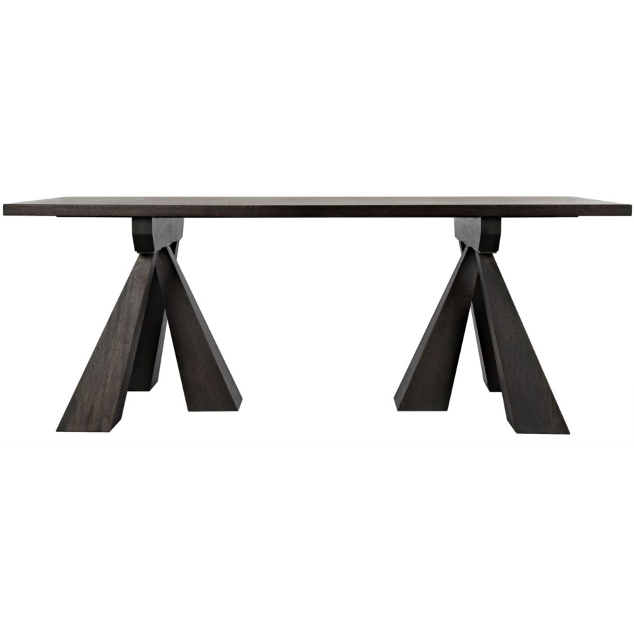 Flotte Dining Table, Ebony Walnut
