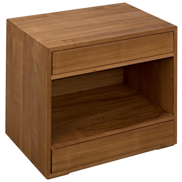SL05 Side Table, Gold Teak