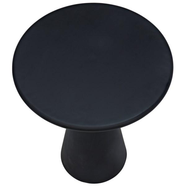 Idiom Side Table, Black Metal
