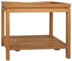 Saga Side Table, Gold Teak