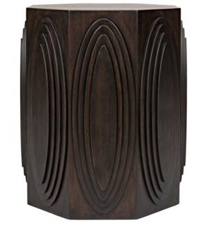 Jules Side Table, Ebony Walnut