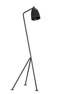 Asti Floor Lamp, Black Metal