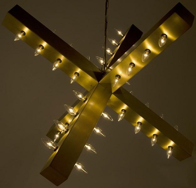 Cruzar Light, Antique Brass