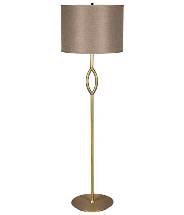 Ridge Floor Lamp with Shade