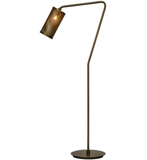 Pisa Floor Lamp, Antique Brass