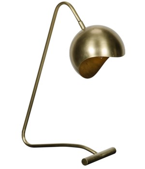 Merla Lamp, Antique Brass