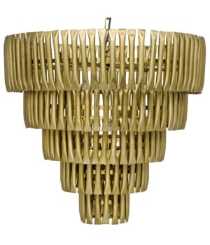 Lord Chandelier, Antique Brass