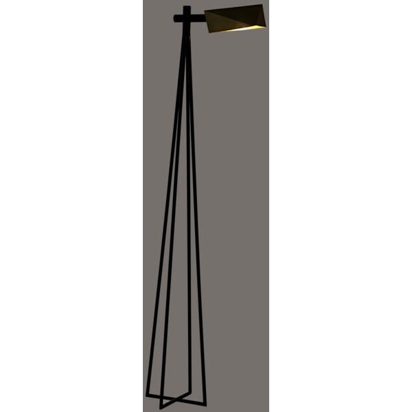 Parma Floor Lamp, Antique Brass