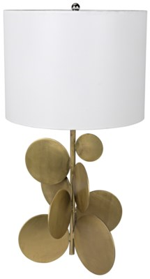 Vadim Table Lamp, Antique Brass