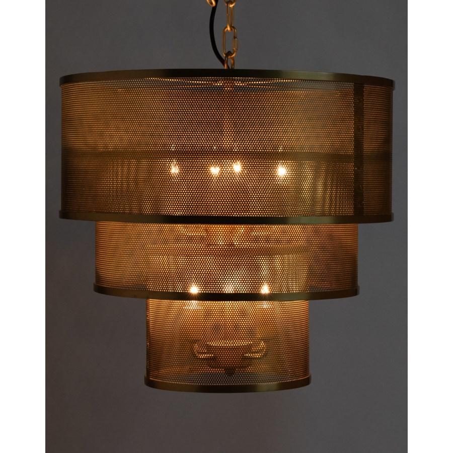 Arena Pendant, Antique Brass