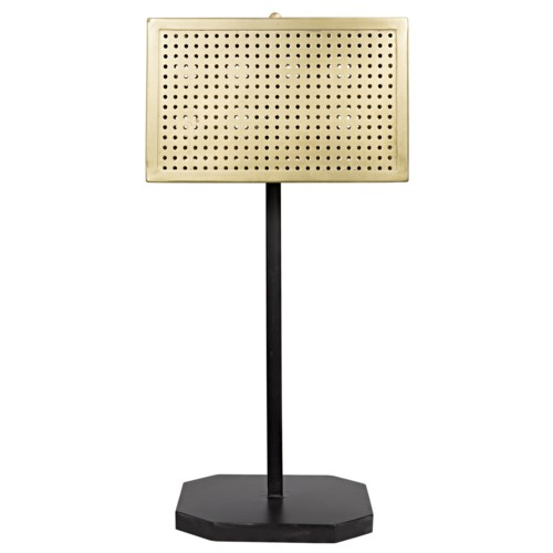 Lounge Lamp, Antique Brass