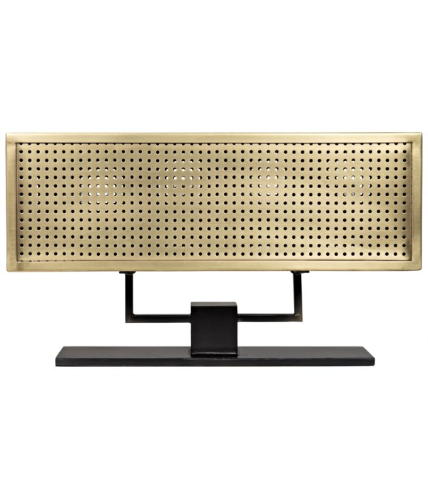 Apollo Table Lamp, Metal with Brass Finish