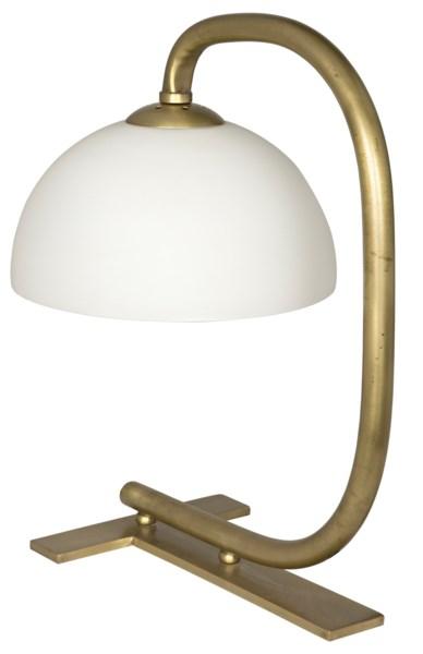 Roman Lamp, Antique Brass