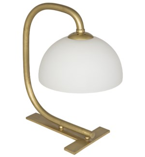 Roman Lamp, Antique Brass