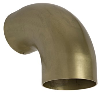 Elbow Sconce, Antique Brass